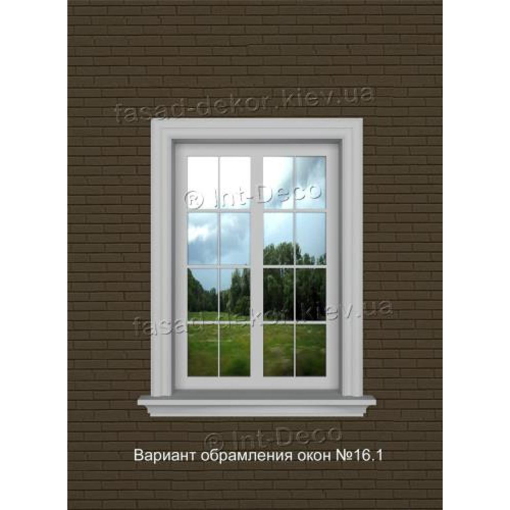 Фасад дома варианты отделки окон на фасаде № 16.1